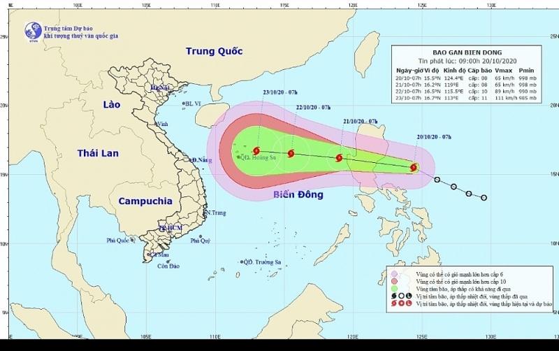 Tin siêu bão cấp 17 vào miền Trung là giả mạo