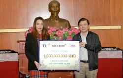 Tập đoàn TH ủng hộ 1 tỉ đồng giúp đồng bào vùng lũ miền Trung