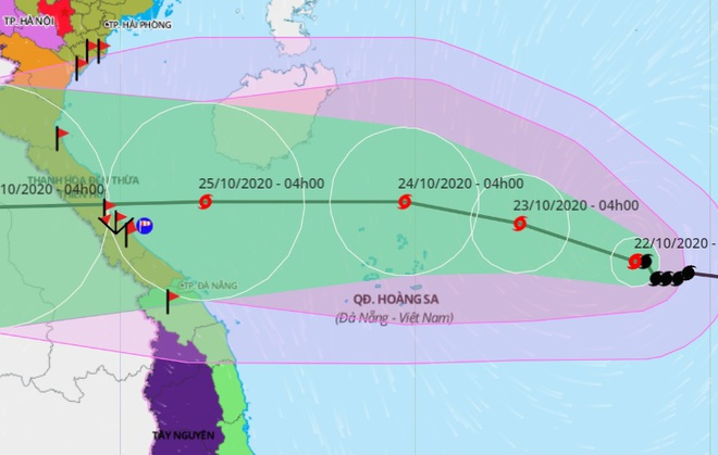 Bão nối bão vào Biển Đông