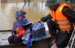 Quảng Trị: Lương khô quân đội đã về đến đâu mà cán bộ chia nhau