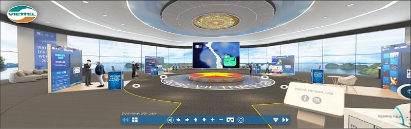 Gian hàng thực tế ảo trong ITU Digital World 2020
