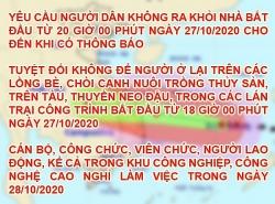 Đà Nẵng: Sơ tán hơn 140.000 người, cho người lao động nghỉ làm ngày 28/10