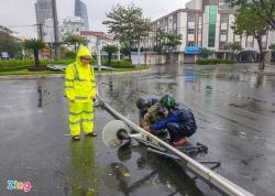 1,7 triệu hộ dân mất điện do bão số 9