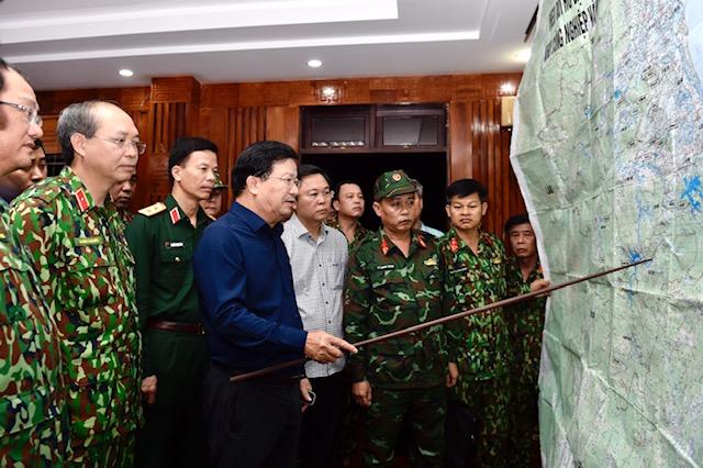 Sạt lở đất nghiêm trọng tại Nam Trà My, 53 người mất tích, lập Sở Chỉ huy tiền phương