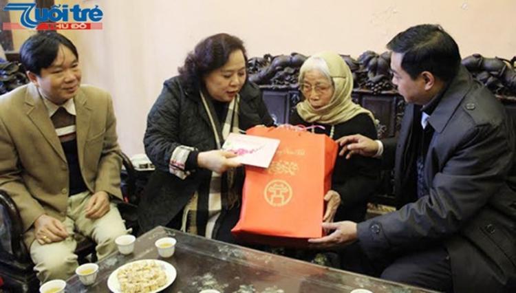 Hà Nội dành khoảng 378 tỷ đồng tặng quà Tết cho đối tượng chính sách