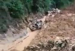 Quảng Nam: Sạt lở núi tại Bắc Trà My, một người mất tích