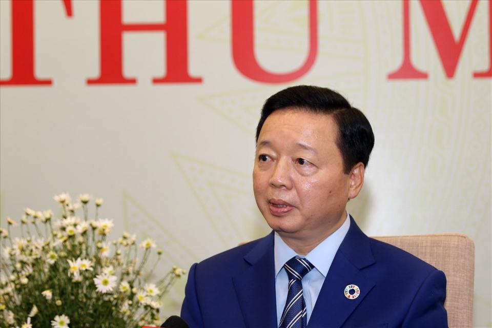 Bộ trưởng Trần Hồng Hà: COVID-19 là giặc, ô nhiễm môi trường là thảm họa
