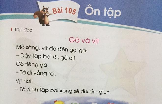 'Sách Tiếng Việt 1 bộ Cánh diều được chỉnh sửa chưa trọn vẹn'