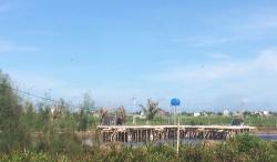 Thái Bình: Ngang nhiên làm nhà hàng trên đất nuôi trồng thủy sản