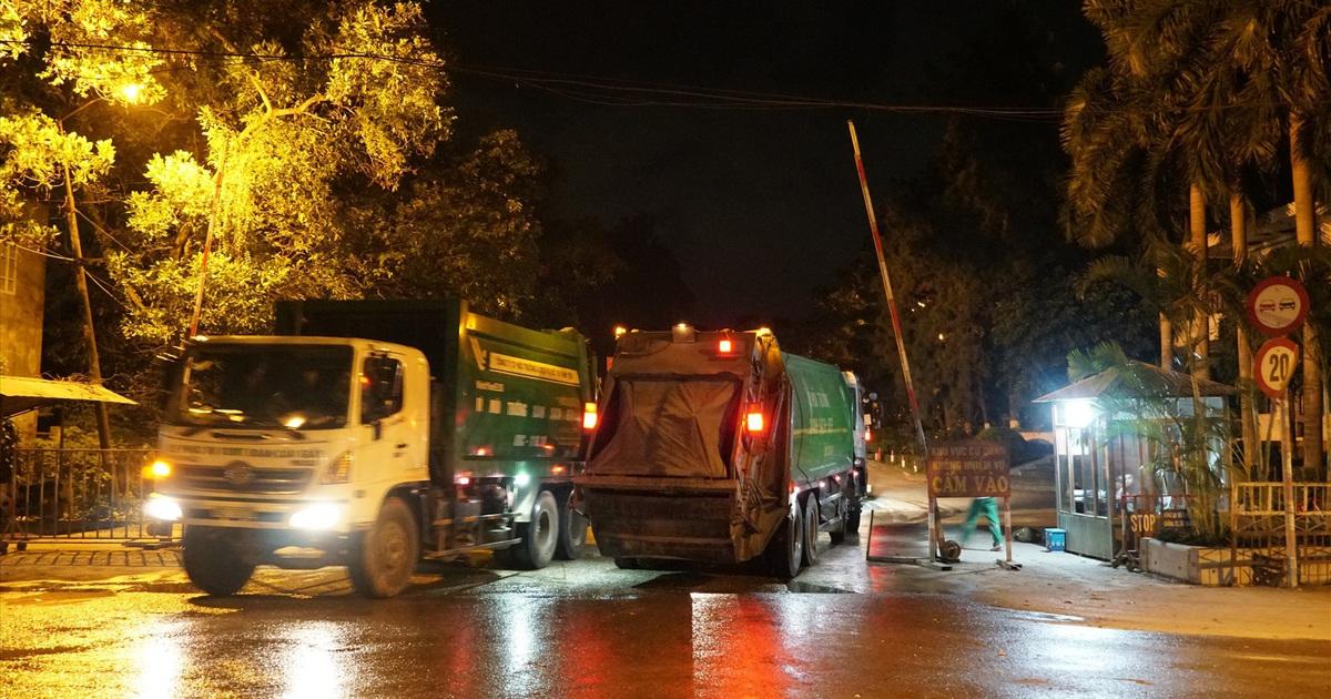 Gắn định vị cho xe thu gom rác để giám sát hành trình?