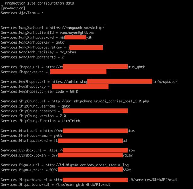 Giao Hàng Tiết Kiệm bị hacker khai thác lỗ hổng trên máy chủ - 2