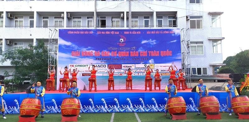 Trực tiếp Press Cup 2020: Báo Tuổi trẻ Thủ đô - FC Báo chí Thanh Hóa