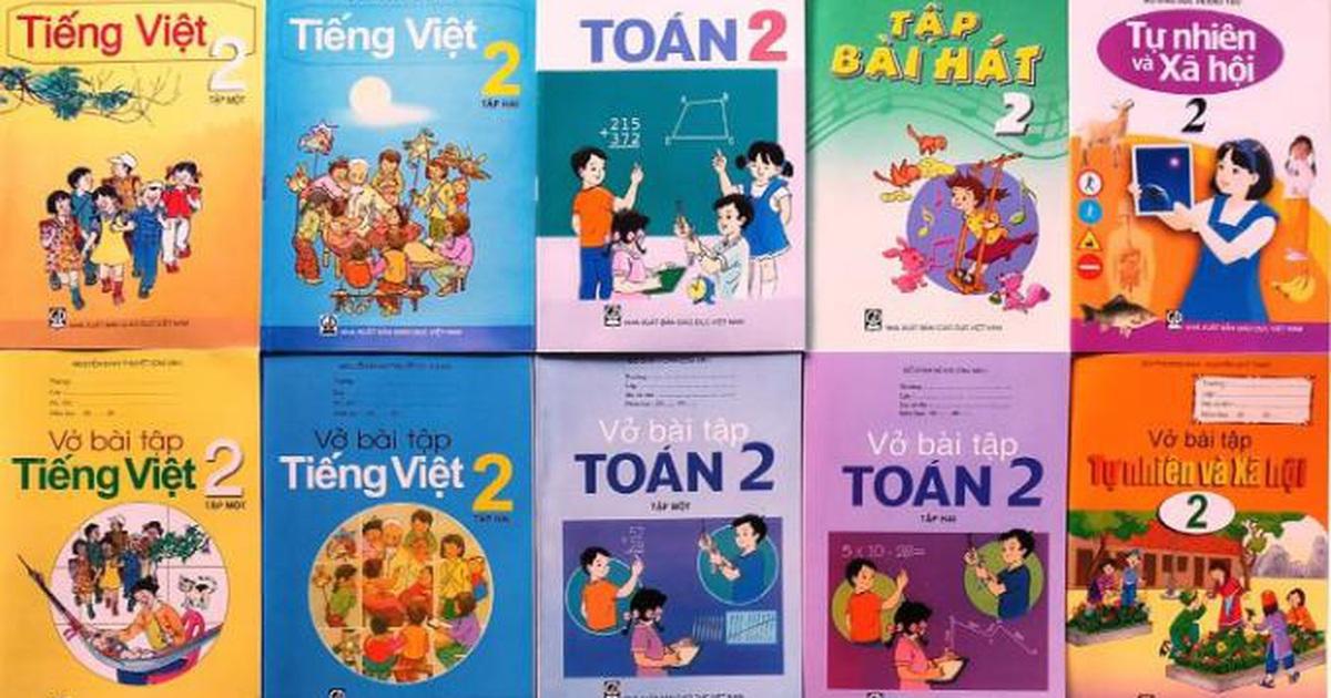 Giáo viên tham gia góp ý các bản mẫu sách giáo khoa lớp 2 và lớp 6
