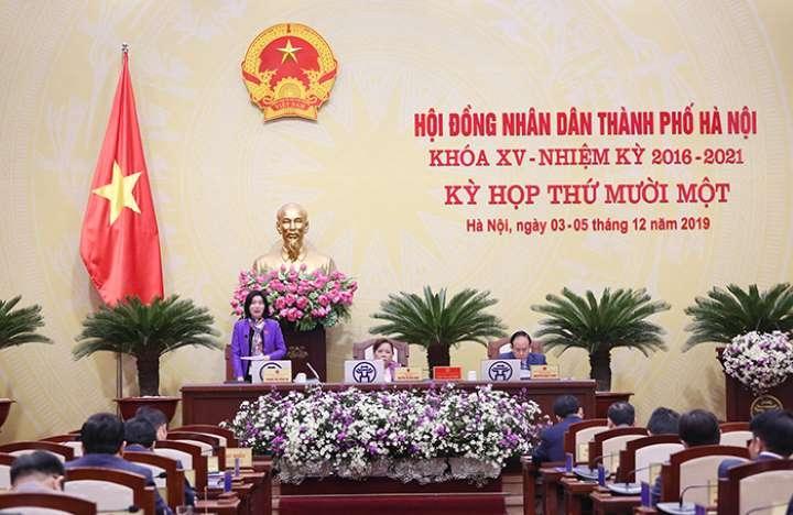 Kỳ họp thứ 11 - HĐND TP Hà Nội Khóa XV