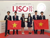 Việt Nam đoạt 3 HCV kỳ thi Olympic Khoa học trẻ quốc tế