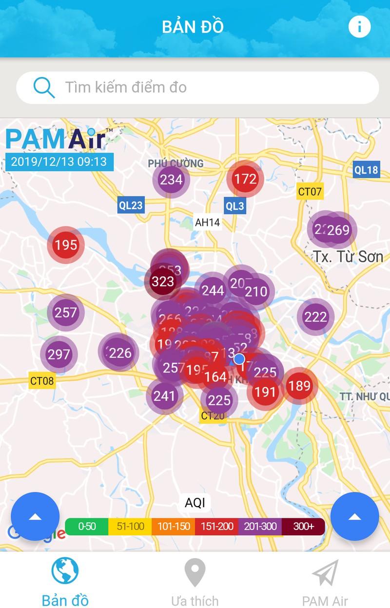 Người Hà Nội lại được cảnh báo hạn chế ra đường vì không khí ô nhiễm