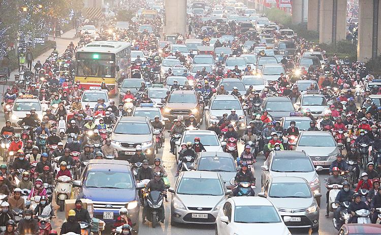 Người Hà Nội trong khói xe
