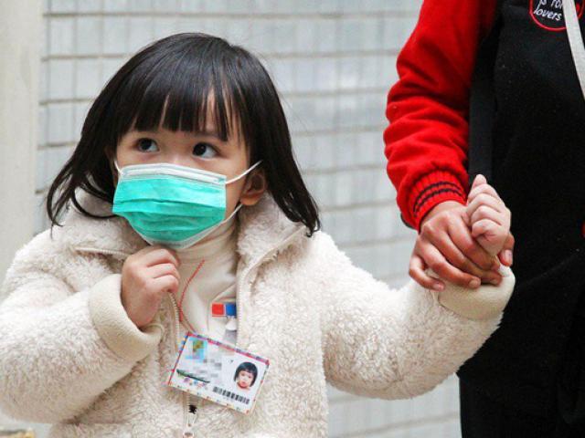 Trời lạnh, 500 trẻ nhập viện do cúm chỉ trong 1 tháng