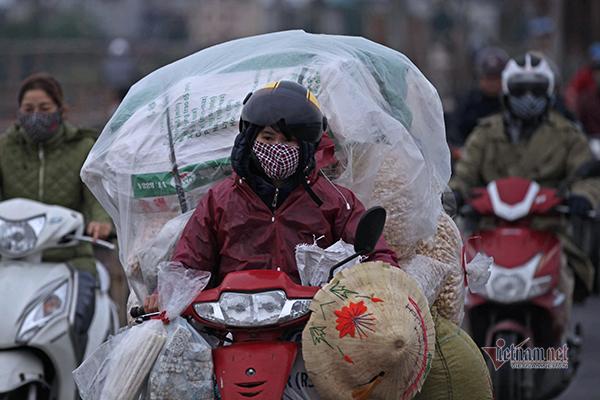 Hứng chịu đợt lạnh sâu, chất lượng không khí được cải thiện