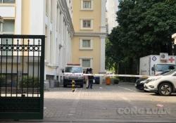 Hà Nội: 1 cán bộ rơi từ tầng cao, tử vong trong khuôn viên Bộ Tài chính