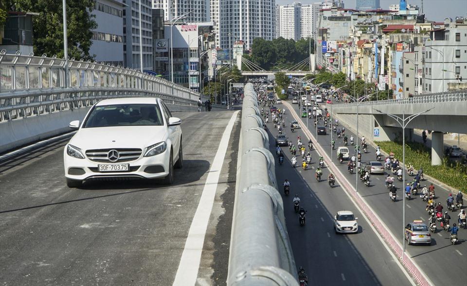 Hà Nội: Hàng loạt dự án giao thông lớn kịp về đích trước năm 2020