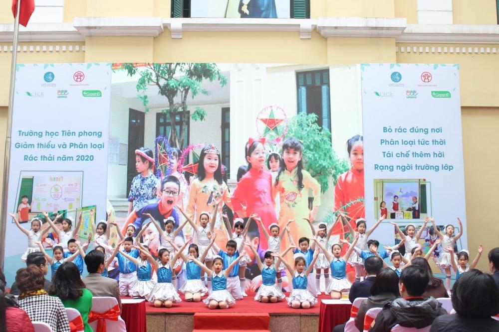 Hà Nội: 21 trường học tiên phong phân loại, giảm thiểu rác