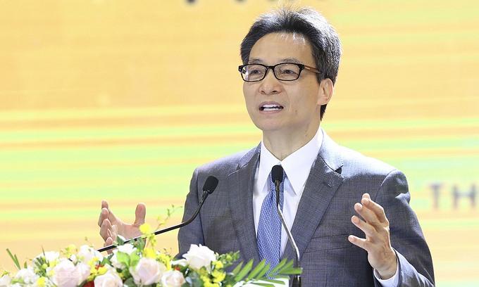 Phó Thủ tướng Vũ Đức Đam chia sẻ tại diễn đàn.