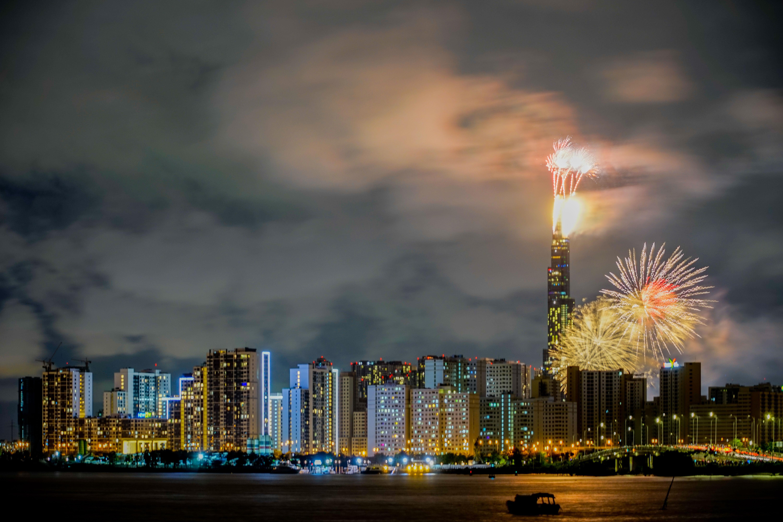 Chào đón Năm mới 2021