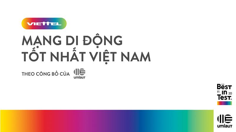 Viettel được công nhận là mạng di động tốt nhất Việt Nam